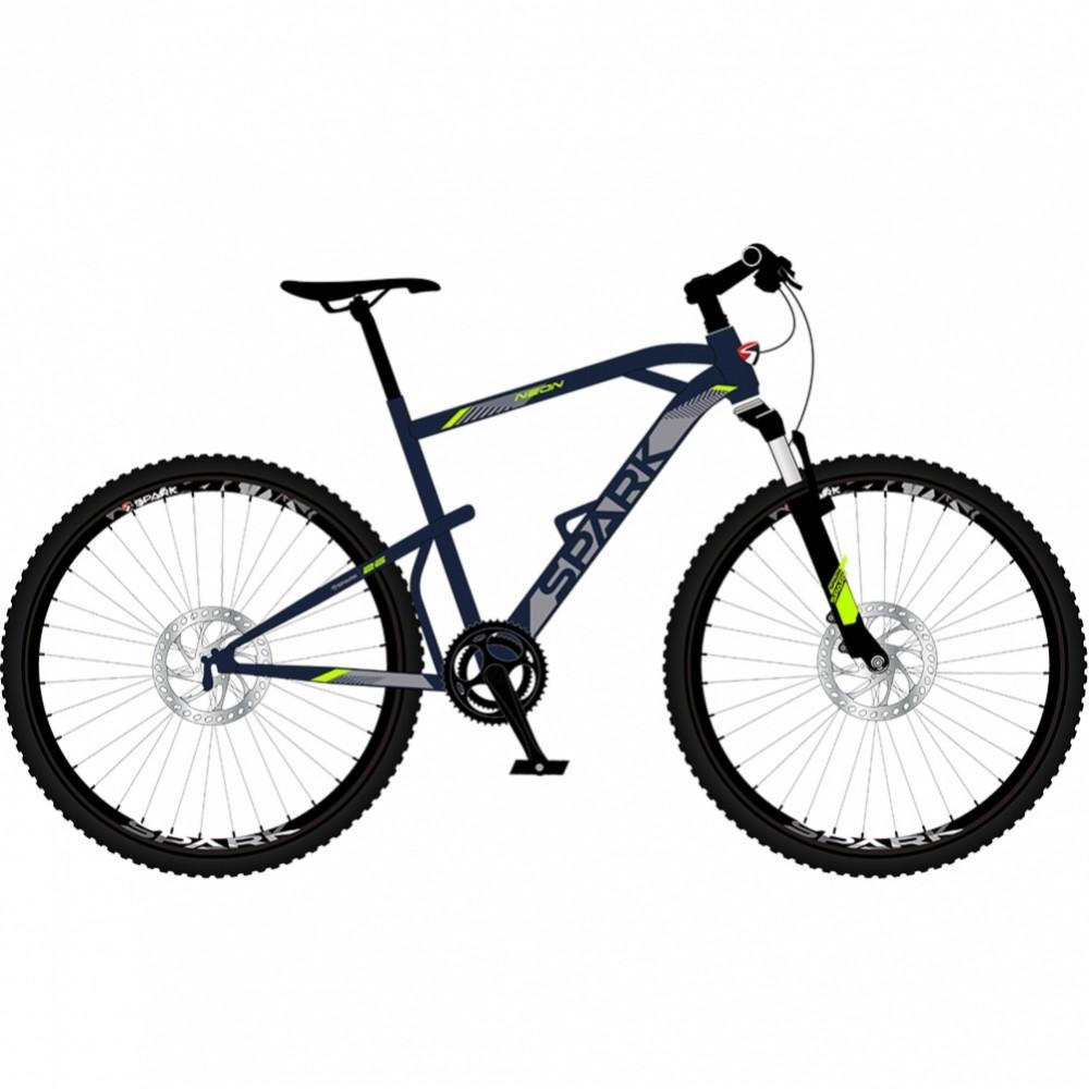 Купить Велосипед SPARK NEON 19 (колеса - 26'', сталева рама - 19'')