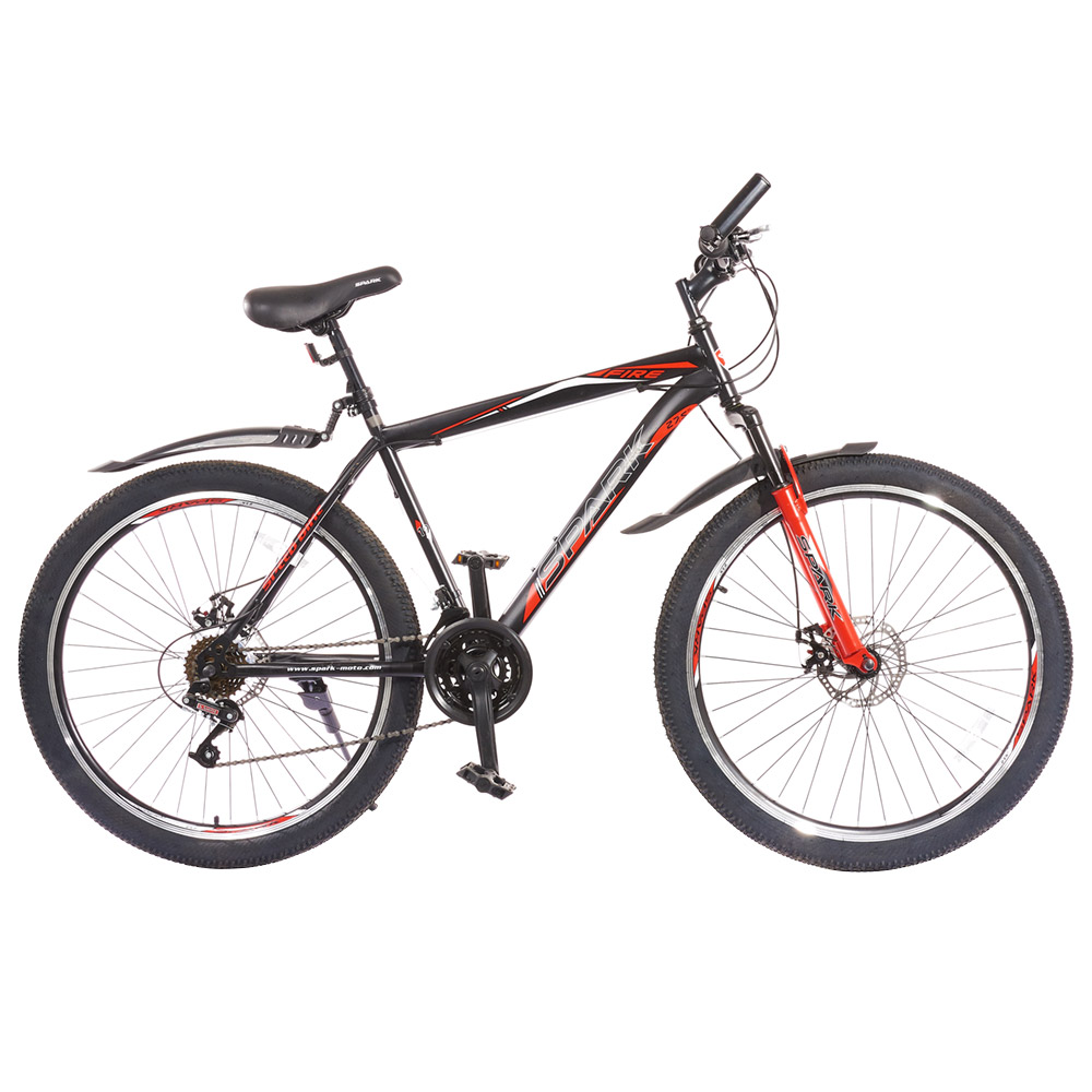 Купить Велосипед SPARK FIRE 19 (колеса - 27,5'', сталева рама - 19'')